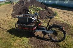 Erde für den Garten